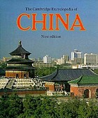 The Cambridge encyclopedia of China
