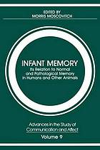 Infant memory : its relation to normal and pathological memory in humans and other animals