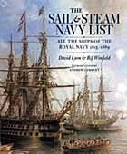 The sail & steam Navy list : all the ships of the Royal Navy, 1815-1889