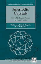Aperiodic crystals : from modulated phases to quasicrystals