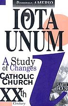 Iota unum : a study of changes in the Catholic Church in the XXth century