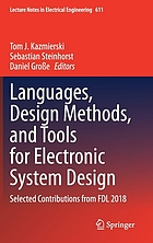 Languages, design methods, and tools for electronic system design : selected contributions from FDL 2018