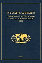 Global community yearbook of international law and jurisprudence.