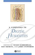 A Companion to Digital Humanities cover