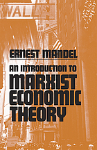An introduction to Marxist economic theory.