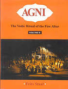 Agni, the Vedic ritual of the fire altar