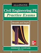 Civil engineering PE practice exams : breadth and depth