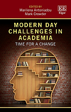 Modern day challenges in academia : time for a change