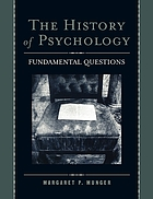 This history of psychology : fundamental questions
