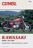 Kawasaki KZ650 fours, 1977-1983 : service, repair, performance