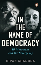In the name of democracy : JP movement and the emergency