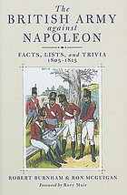The British Army against Napoleon : facts, lists, and trivia, 1805-1815