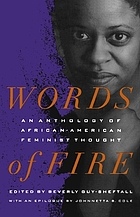 Words of fire : an anthology of African-American feminist thought