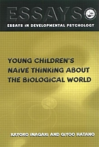 Young children's naive thinking about biological world