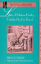 Letters of Mistress Henley published by her friend