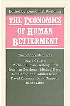 The Economics of human betterment