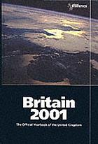 Britain : an official handbook. 2001.