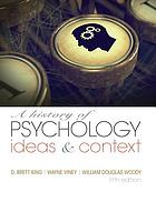 A history of psychology : ideas and context