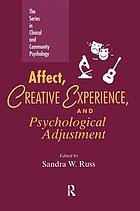 Affect, creative experience, and psychological adjustment