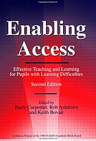 Enabling access : effective teaching and learning for pupils with learning difficulties