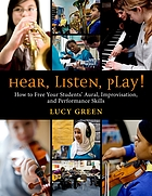 Hear, listen, play! : how to free your student's aural, improvisation, and performance skills