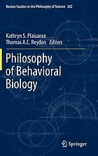 Philosophy of behavioral biology