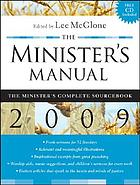 The minister's manual.