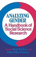 Gender equity : an integrated theory of stability and change