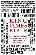 The Holy Bible : containing the Old and New Testaments translated out of the original tongues and with the former translations diligently compared and revised by His Majesty's special command appointed to be read in churches : authorised King James version.