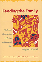 Feeding the family : the social organization of caring as gendered work