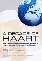 A decade of HAART : historical perspectives and future directions