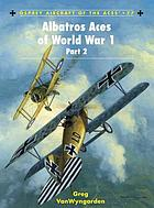 Albatros aces of World War I. Part 2
