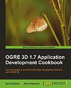 OGRE 3D 1.7 Application Development Cookbook.