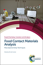 Food contact materials analysis : mass spectrometry techniques