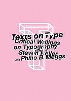 Texts on type : critical writings on typography
