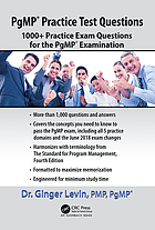 PgMP® Practice Test Questions : 1000+ Practice Exam Questions for the PgMP® Examination.