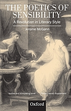 The poetics of sensibility : a revolution in literary style