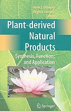 Plant-derived natural products : synthesis, function, and application