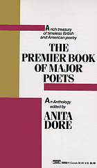 The premier book of major poets : an anthology