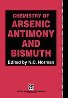 Chemistry of arsenic, antimony, and bismuth