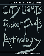 City lights pocket poets anthology - 60th anniversary edition.