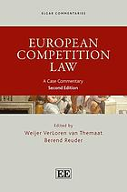 European Competition Law : a Case Commentary, Second Edition.