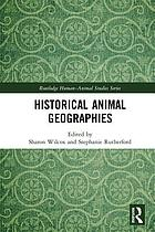 Historical animal geographies