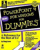 PowerPoint 4 for Windows for dummies