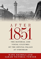 After 1851 : the material and visual cultures of the Crystal Palace at Sydenham