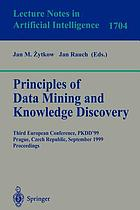 Principles of Data Mining and Knowledge Discovery.