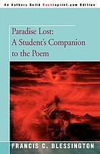 Paradise lost : ideal and tragic epic
