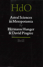 Astral sciences in Mesopotamia