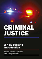 Criminal justice : a New Zealand introduction
