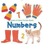 Numbers : learn-a-word book.